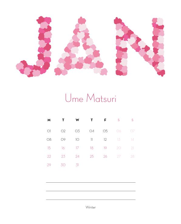 Jap Calendar 01