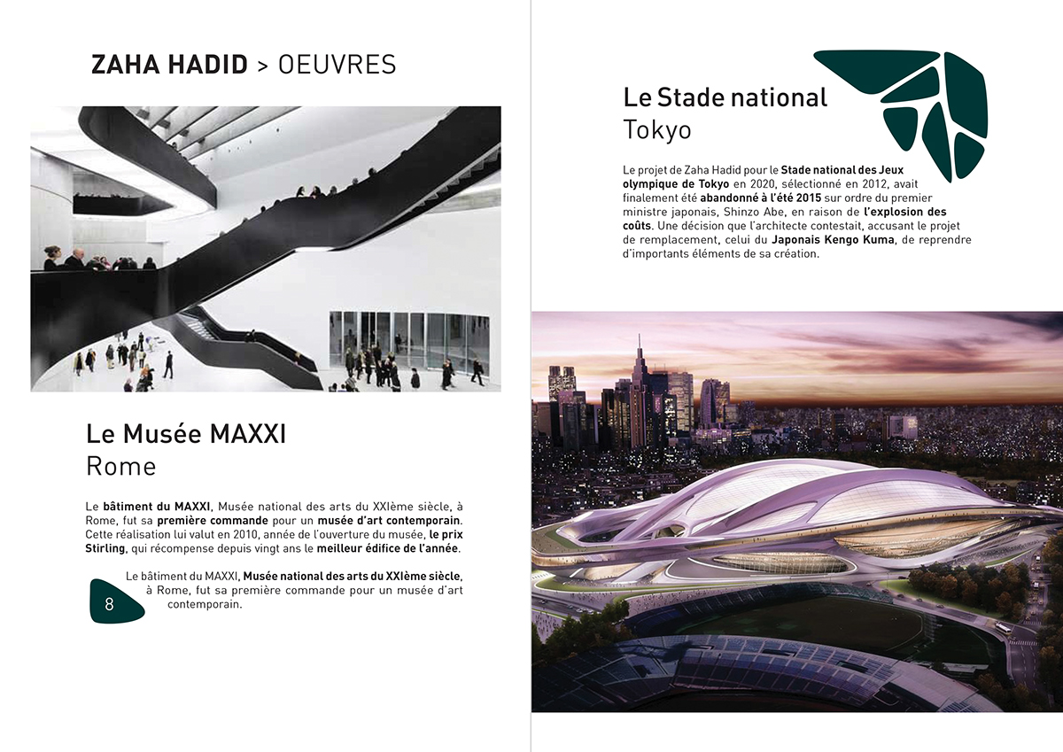 Zaha Hadid monograph