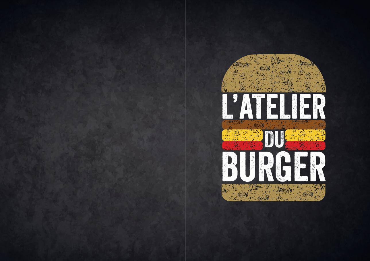 L'atelier du burger - cover