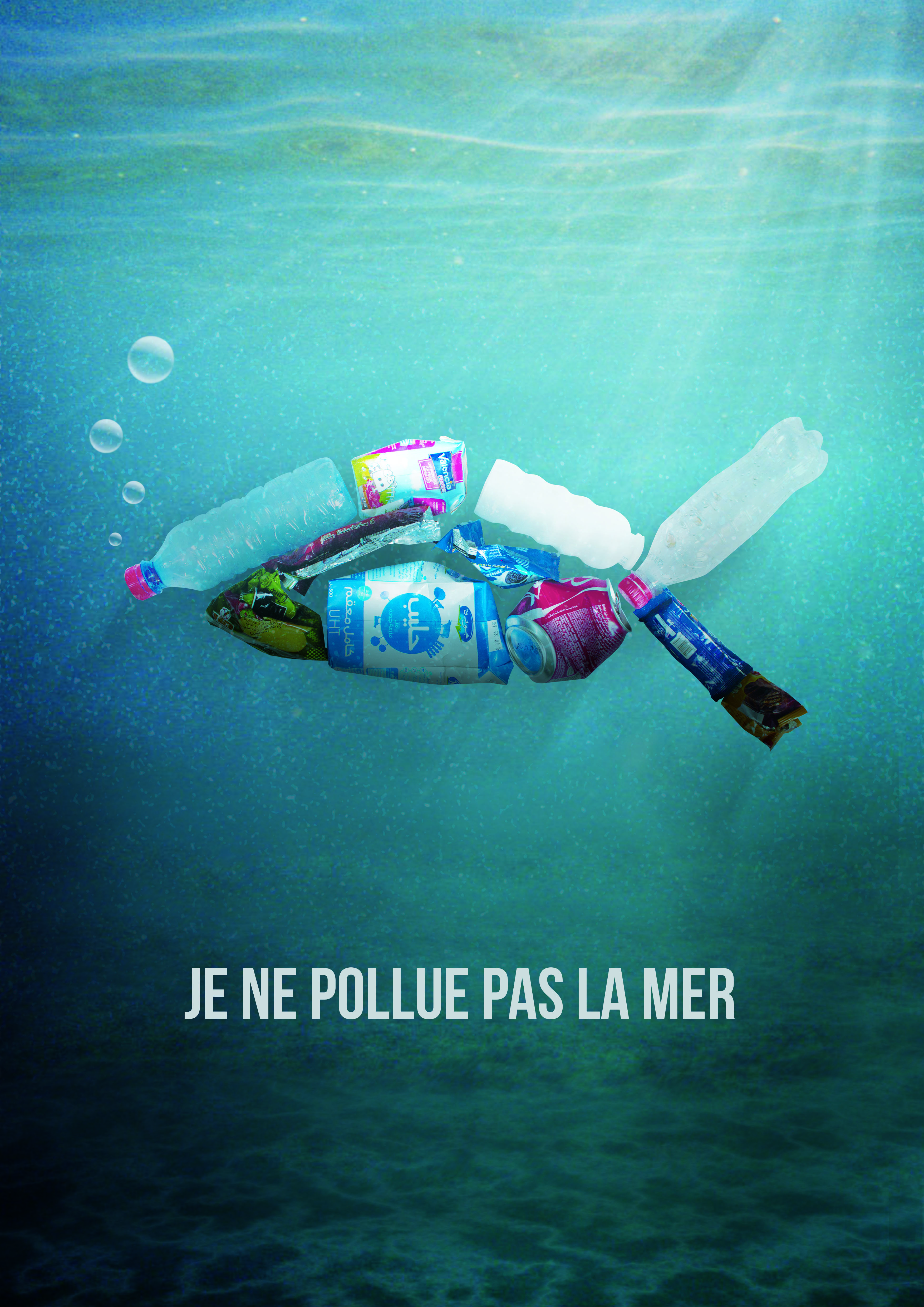 Awareness ecological campaign poster 1
