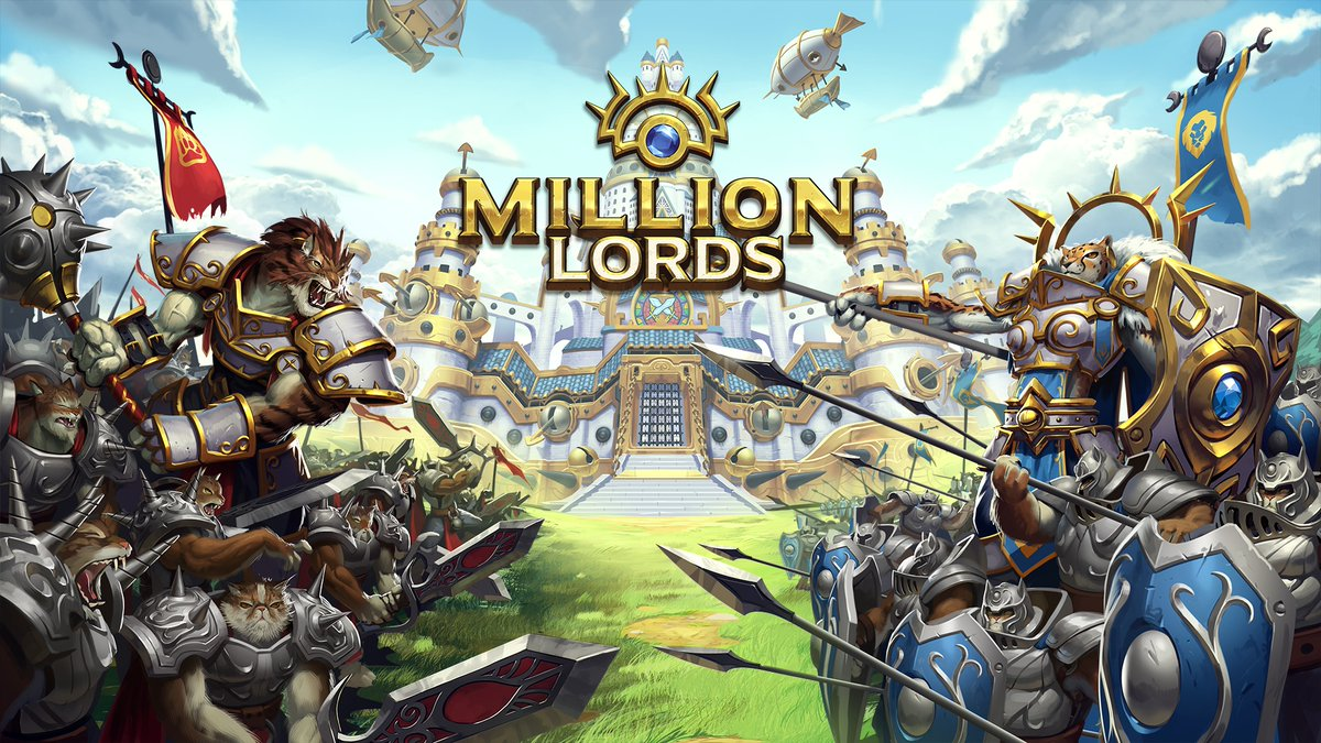 Million Lords - Splash screen