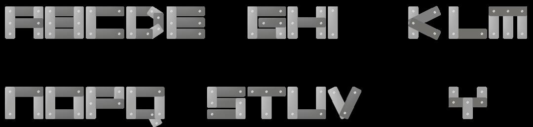 Robotica typography