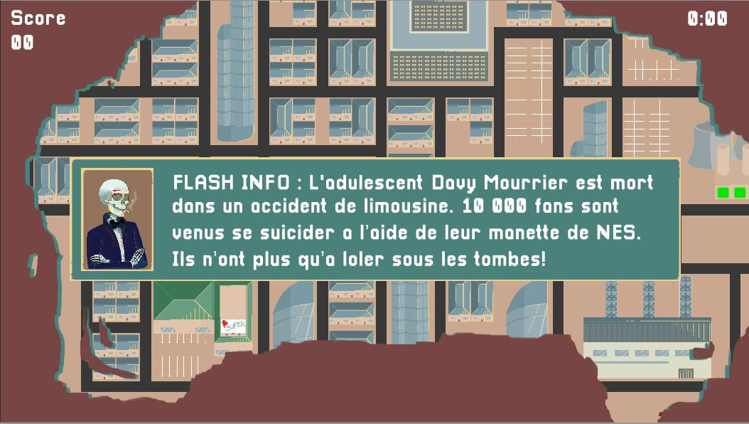 No humans - Flash Info screenshot