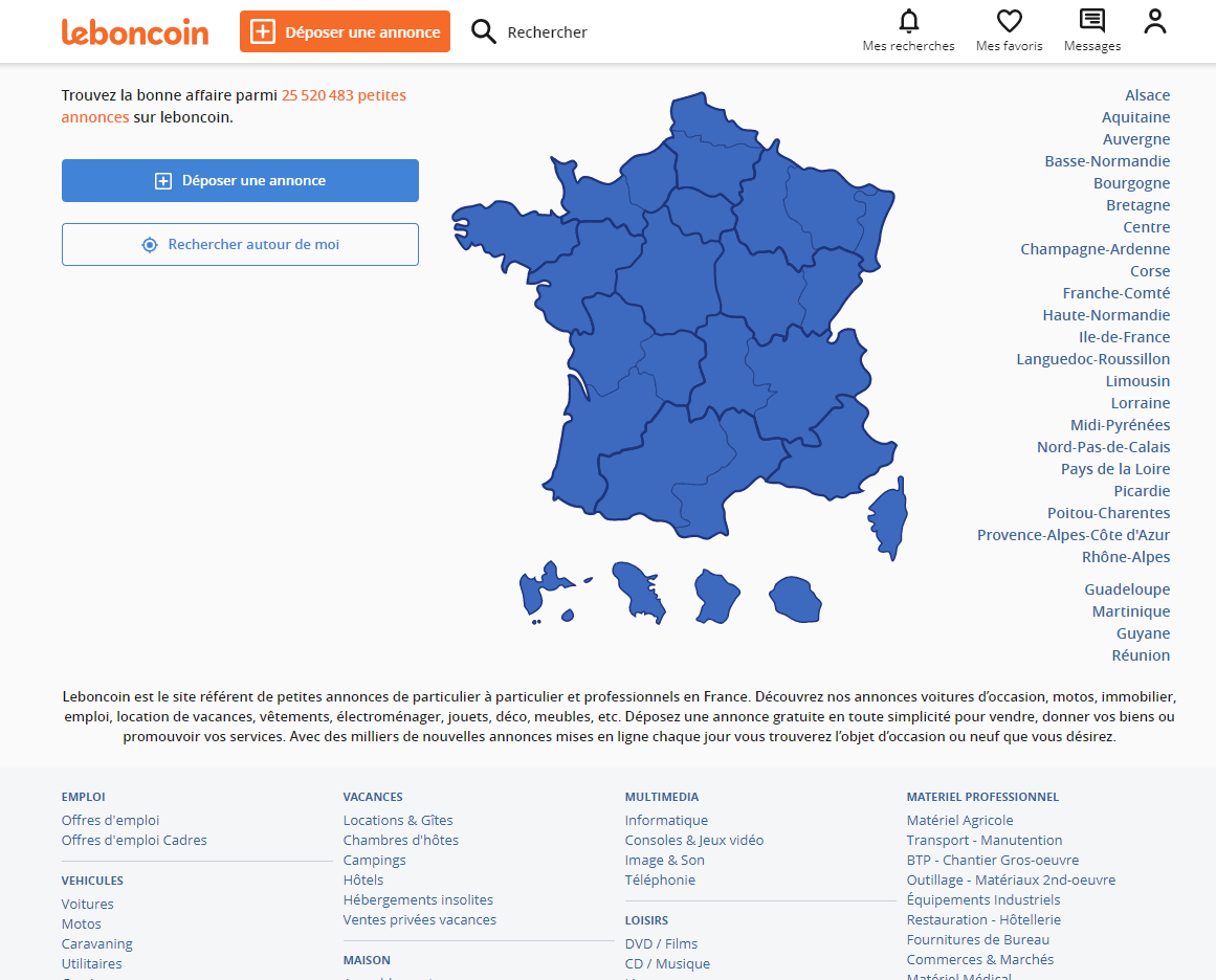 Le bon coin 46 location