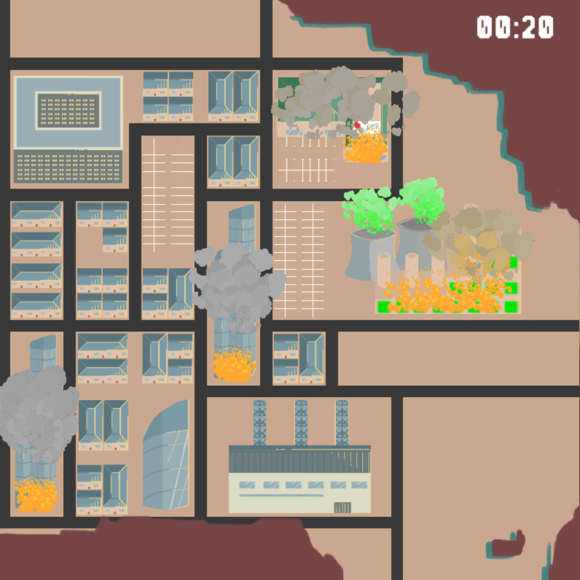 No humans – Game jam project